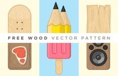 Wood Vector Pattern