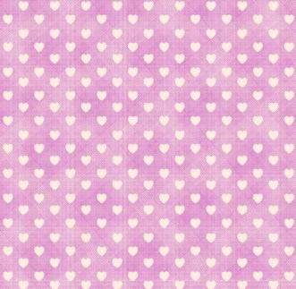 Pink Fabric & Hearts Background Pattern Vector