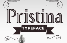 Pristina Typeface