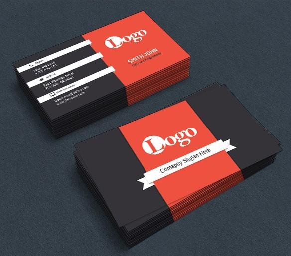 free corporate business card templates psd titanui
