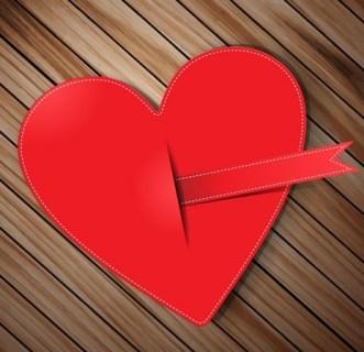 Creative Valentine's Day Heart Design Vector 02