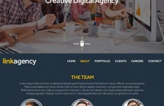 Link Agency Template PSD