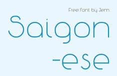 Saigonese Font