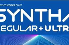 Syntha Regular & Ultra Fonts