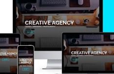 Coconut Creative Agency Template PSD