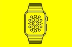 Apple Watch Vector Template
