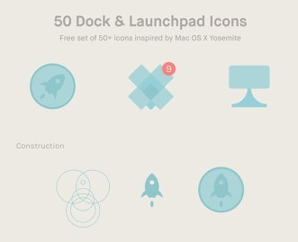 50 Dock and Launchpad Icons
