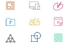 9 Web Office Icons