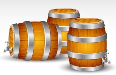 Sleek Barrels Vector