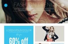 Tersohor E-commerce Web Template PSD