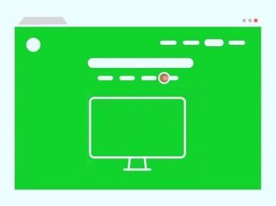 Website Wireframe Vector