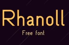 Rhanoll Font