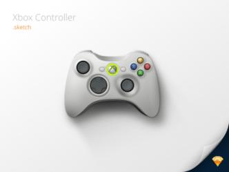 Xbox Controller Sketch