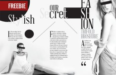 Tri-fold Fashion Broshure Template InDesign