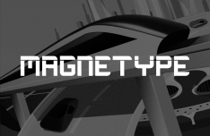 Magnetype Typeface