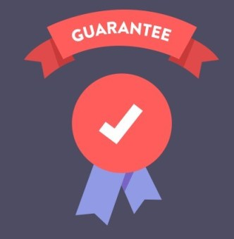 Guarantee Flat Icon Vector