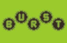 Burst Vector Font
