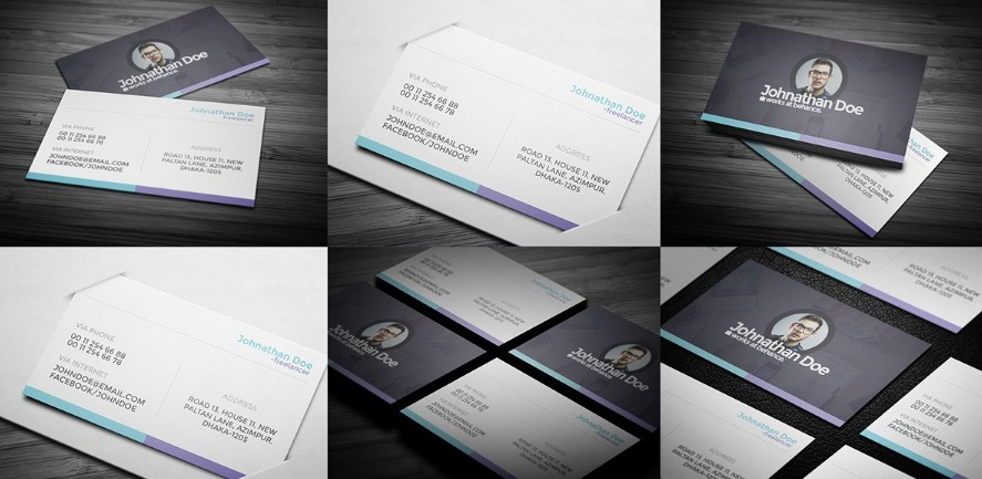 Free personal business card mockups psd titanui reheart Image collections