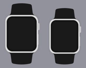 Simple Apple Watch Templates Sketch