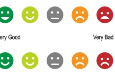 Smiley Rating Icons Vector