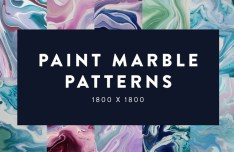 Paint Marble Patterns Set 01