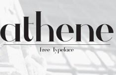 ATHENE Typeface