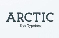 ARCTIC Typeface