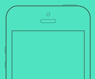 iPhone Wireframe Mockup Sketch