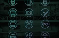 18 City Line Icons