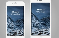iPhone 6 6 Plus Mockups For Sketch