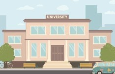 University Vector Illustration (AI+AEP)