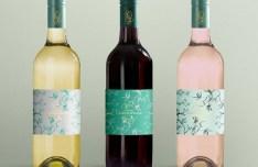 Wine Bottle Display Mockup PSD