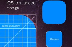 Golden Ratio App Icon Grid Template
