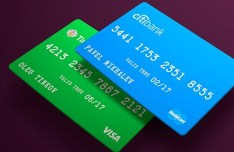 Debit Credit Card Template PSD