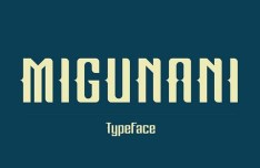 Migunani Typeface