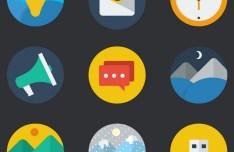 30 Random Vector Flat Icons