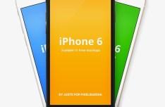 iPhone 6 Vector Mockups (3 Colors)