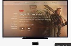 HD TV Screen + Apple TV Mockup For Sketch