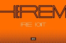 THEREMIN Font