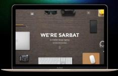 Sarbat Portfolio Website PSD Template