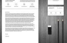 3-Piece Resume & Business Card Templates PSD