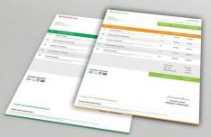 Modern Company Invoice Mockups PSD