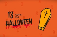 13 Vector Halloween Icons (AI, EPS, SVG, PNG)