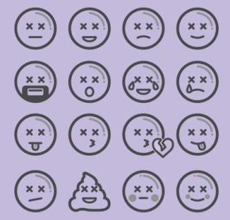 75 Emoji Icons (AI + PNG)
