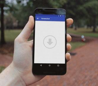 Nexus 5X In Hand PSD Mockups