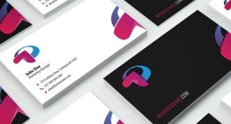 Fashion Business Card Templates Vector