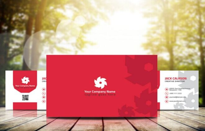 Professional Business Card Template (AI+PSD)