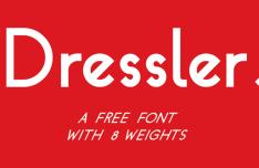 Dressler Font
