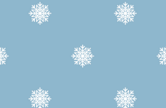 Seamless Winter Snowflakes Pattern Vector