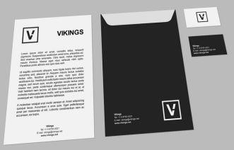 Minimal Dark Branding Mockup PSD